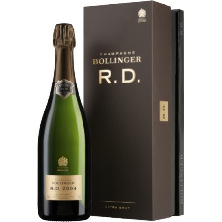 Champagne Bollinger RD 2002 Coffret